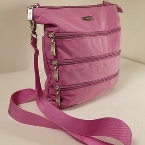 Baggallini lavender crossbody purse
